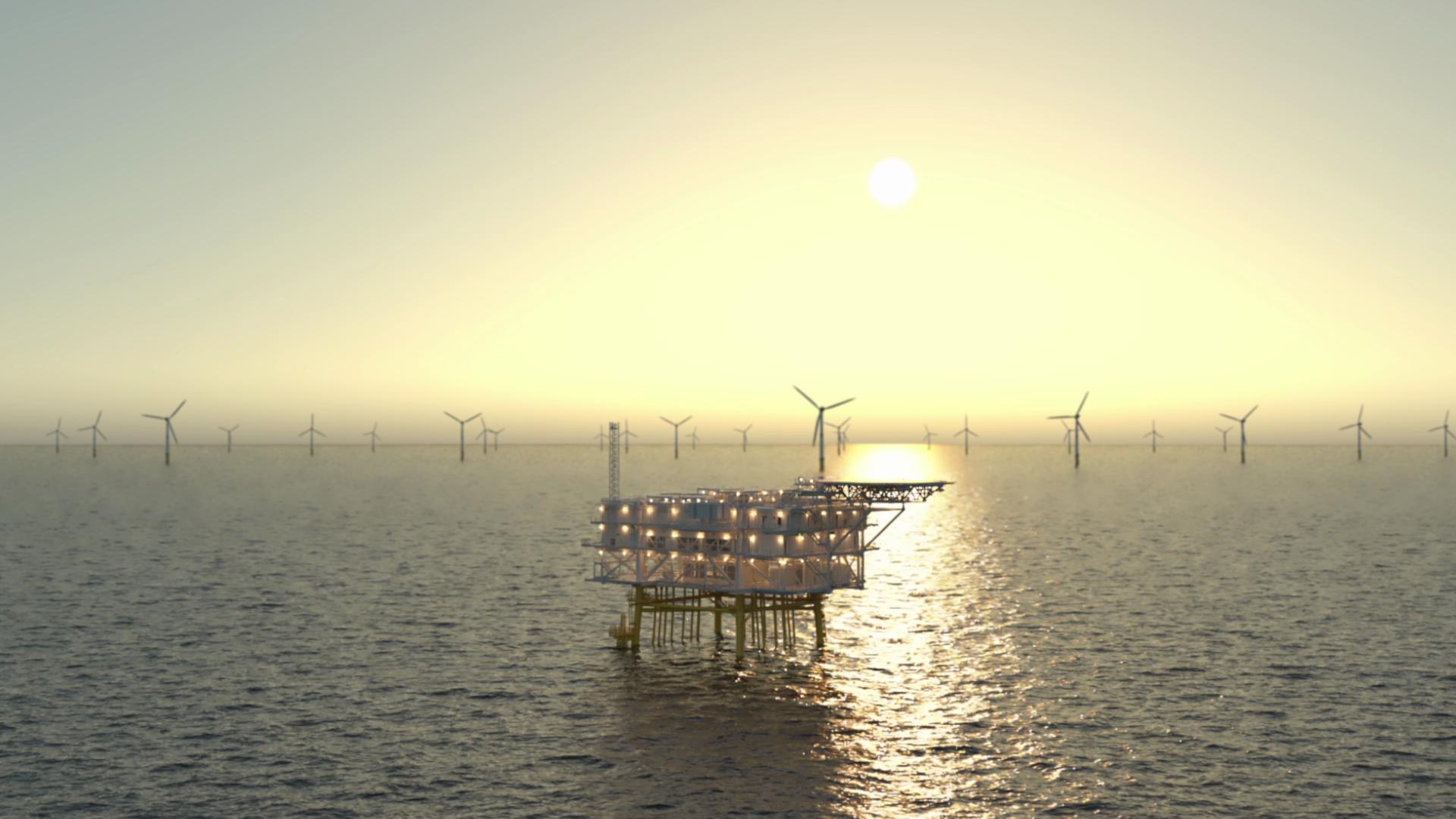 animatie voor offshore oplossingen